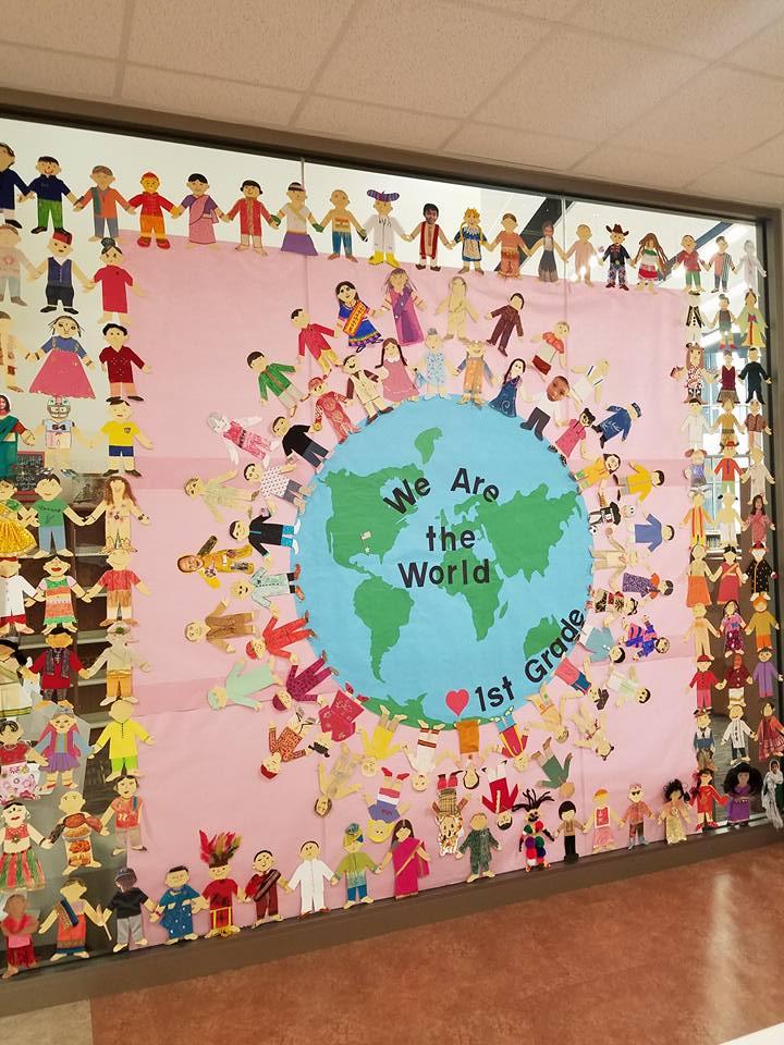 1st Grade Multicultural festival